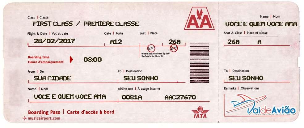 Passagem aérea no boleto - Vai de Avião Agência de Viagens