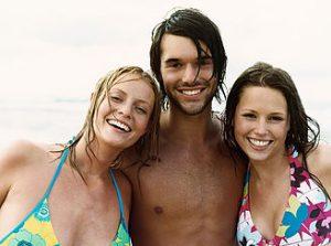 Sem consulta SPC e Serasa - Amigos na praia
