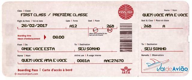Orçamento de passagem aérea - Vai de Avião Agência de Viagens